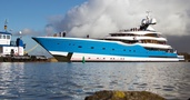 Feadship Launch The Netherlands' Largest Superyacht