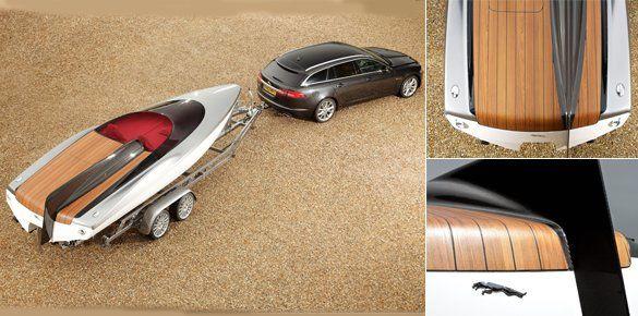 Jaguar Unveils New Speedboat Concept