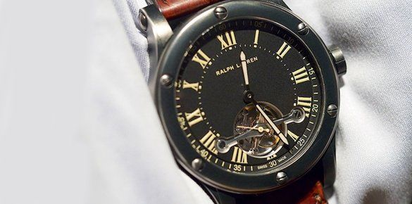 Ralph Lauren Bucks the Trend at SIHH 2013